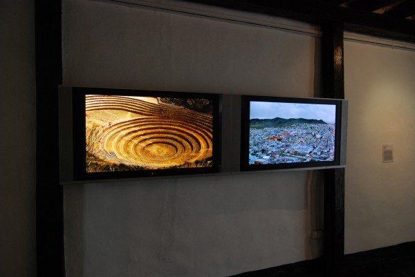 Ximena Garrido-Lecca, Yacimientos (2013), video HD en dos canales, 8:56 min. Foto: Felipe Mujica