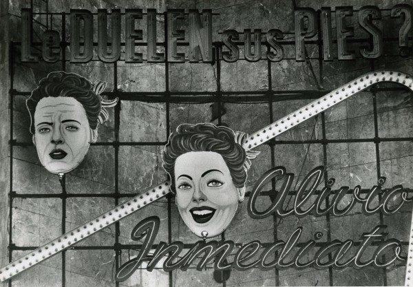Barbara Brändli, Sin título, de la serie del Sistema Nervioso,, Caracas, 1973-1975. Colección Leticia y Stanislas Poniatowski. © Barbara Brändli