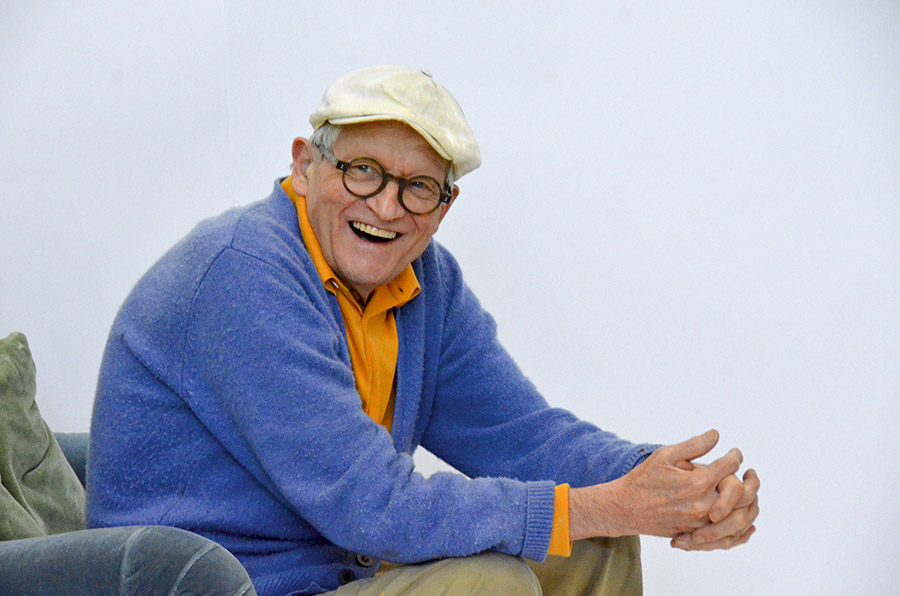 DAVID HOCKNEY: 82 RETRATOS Y 1 BODEGÓN EN GUGGENHEIM BILBAO