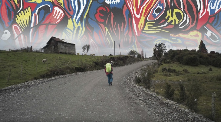 """""""El faro del progreso"""", 2017, de Pilar Quinteros, still de video. Cortesía de la artista"""