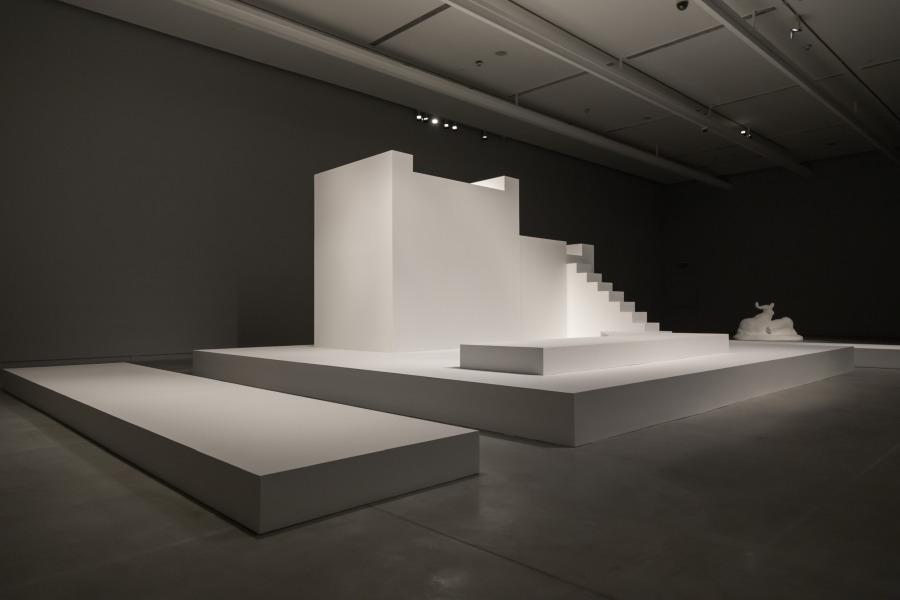 """Vista de la exposición """"Sin título"""", de Elba Bairon, en el Museo de Arte Moderno de Buenos Aires (MAMBA), 2017. Cortesía: MAMBA"""