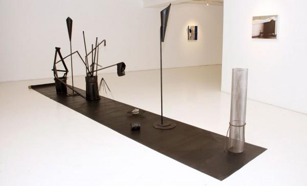 Vista de la exposición I with out Kleenex, de Pablo Jansana, en Artespacio, Santiago de Chile, 2014. Cortesía: Galería Artespacio