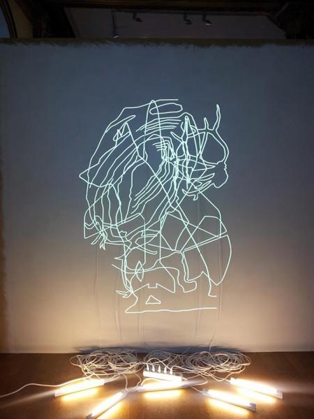 La Sirena (2014) de Claudia Missana, Cortesía Stiftelsen gallery 3, 14