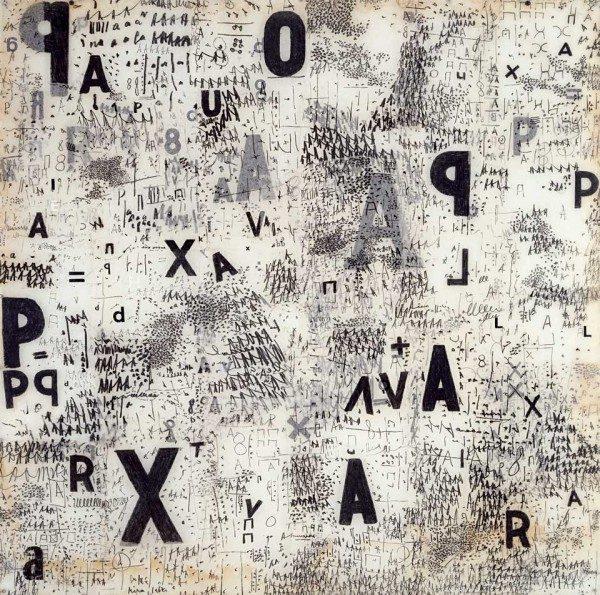 Mira Schendel, Graphic Object (Objeto Gráfico), Colección Patricia Phelps de Cisneros© The estate of Mira Schendel. Cortesía: Tate Modern