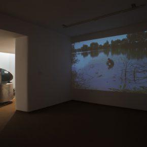 Vista de la exposición Todesfuge, de Fernando Prats, en la Galería Joan Prats, Barcelona, Cortesía de la galería