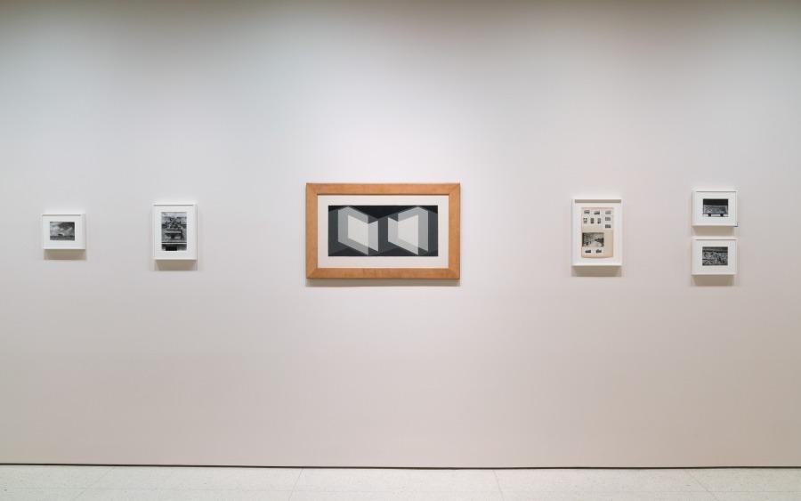 """Vista de la exposición """"Josef Albers en México"""", en el Museo Guggenheim, Nueva York (2017-2018). Foto: David Heald © Solomon R. Guggenheim Foundation, 2017"""