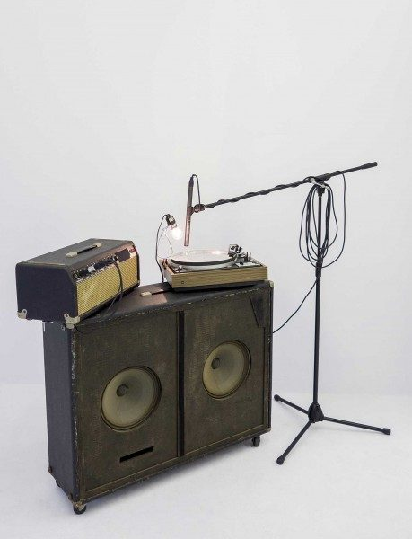 Richard Garet, Before Me, 2012, instalación sonora, dimensiones variables. Parte de la muestra Soundings: A contemporary Score, en el MoMA de Nueva York, 2013.Cortesía del artista y Julián Navarro Projects, NY