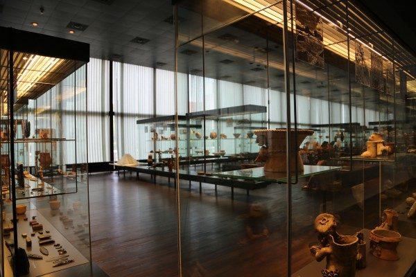 Sala Mesoamericana del Museo Etnológico, Dahlen Museums. Foto: Claudia del Fierro