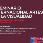 II SEMINARIO INTERNACIONAL ARTES DE LA VISUALIDAD SE ENFOCARÁ EN EL ARCHIVO