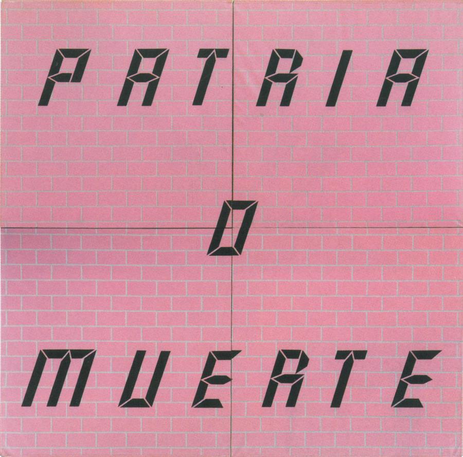 Carlos Rodríguez Cárdenas, Patria o Muerte,1989, 400 x 400 cm. Ludwig Forum für Internationale Kunst, Sammlung Ludwig. Foto: Anne Gold