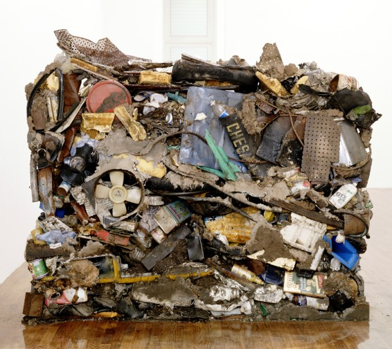 Gordon Matta-Clark, Garbage Wall, 1970 © The Estate of Gordon Matta-Clark. Cortesía: The Estate of Gordon Matta-Clark y David Zwirner, Nueva York/Londres
