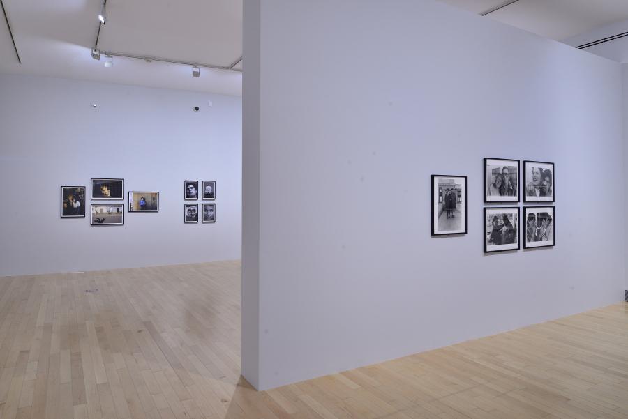Vista de la retrospectiva de Paz Errázuriz en el Museo Amparo, Puebla, México, 2017. Cortesía: Museo Amparo