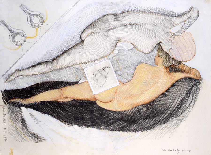 Juan Downey, The Rockeby Venus, 1979. En Artespacio, feria Pinta Miami, 2017. Cortesía de la galería