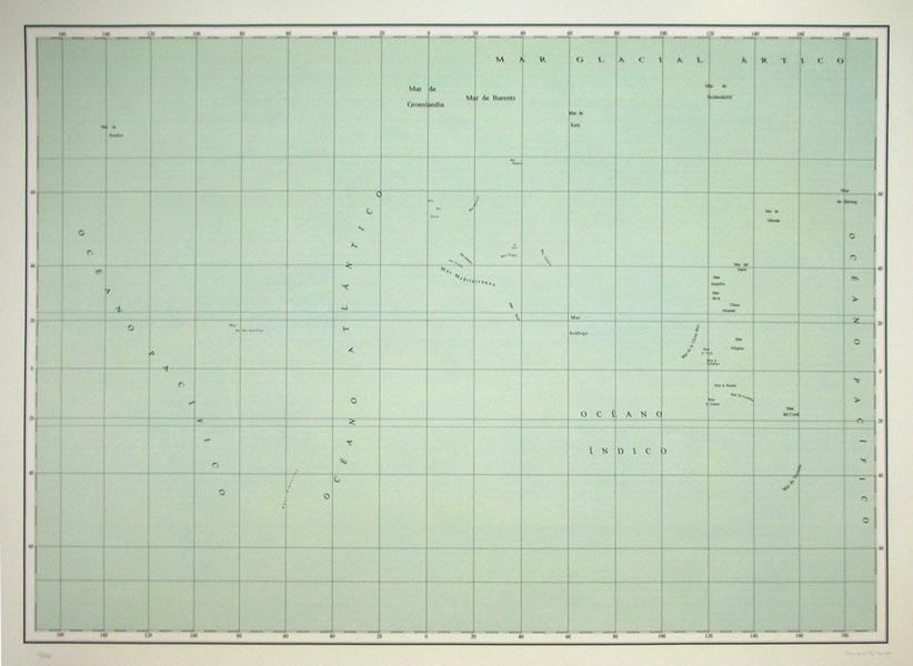 Jorge Macchi, Mare Tranquilitatis, 2007, 75 x 103 cm. Edición 50 ejemplares. Cortesía de la galería