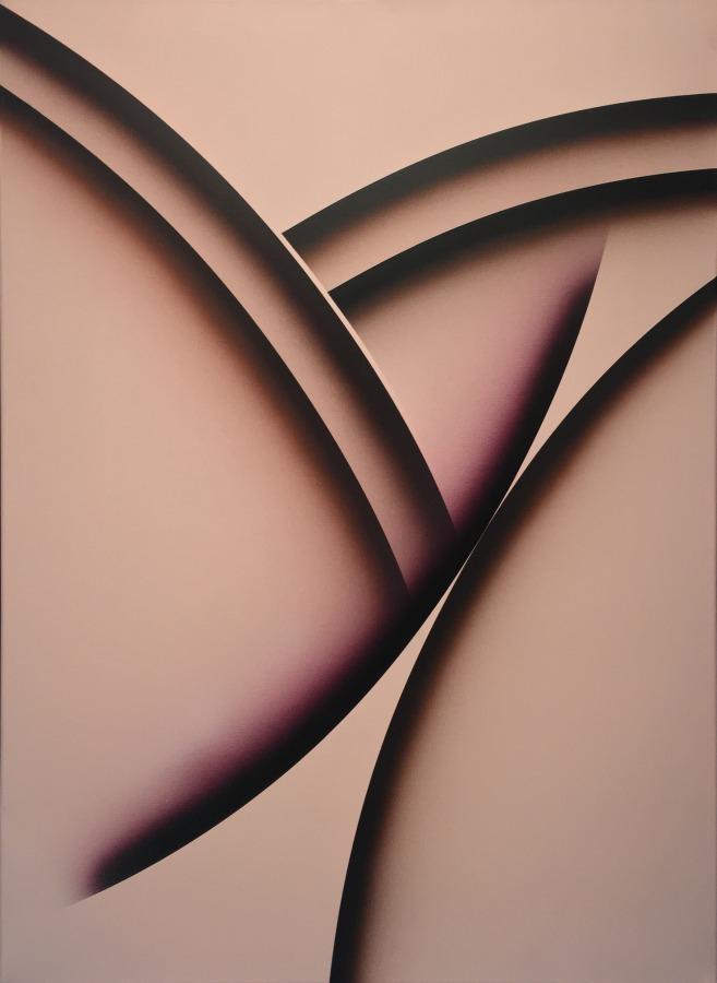 Desnudo Nuba (2011), obra de Eduardo Mac Entyre parte de la muestra Eduardo Mac Entyre. Sutilezas de la línea, en el Museo de Arte Contemporáneo de Buenos Aires. Foto: cortesía MACBA.