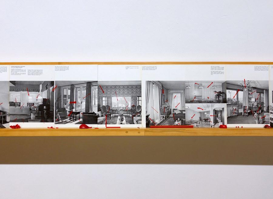 """Partitura para Mercalli, de Ilich Castillo. Vista de la exposición """"Objeto Diferido"""",en el Centro de Arte Contemporáneo (CAC), Quito, 2017-2018. Cortesía del artista"""