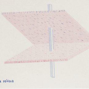 Dom Sylvester Houédard, devozione private (dsh 101070), 1970, mecanografía sobre papel. Colección del Pérez Art Museum Miami. Foto: Sid Hoeltzell