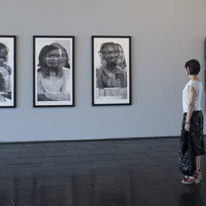 Vista del Proyecto MOR de Máximo Corvalán Pincheira en la muestra Trazo Mutable en el Centro Nacional de Arte Contemporáneo Cerrillos, Santiago de Chile. Foto: cortesía del artista.