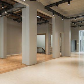 Salas del nuevo espacio de Henrique Faria Buenos Aires, ubicado en Libertad 1630 (CABA)