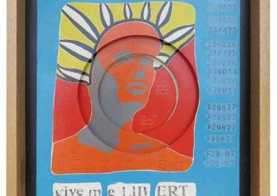 Give me Libert, 1966 1967, de Felipe Ehrenberg, en Baró Galeria