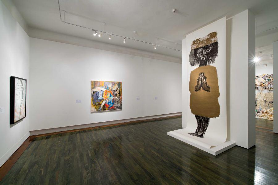 """Vista de la exposición """"Entredichos: Nuevas adquisiciones de la colección permanente del Museo de Arte Contemporáneo de Puerto Rico"""", San Juan, 2018. Cortesía del museo"""