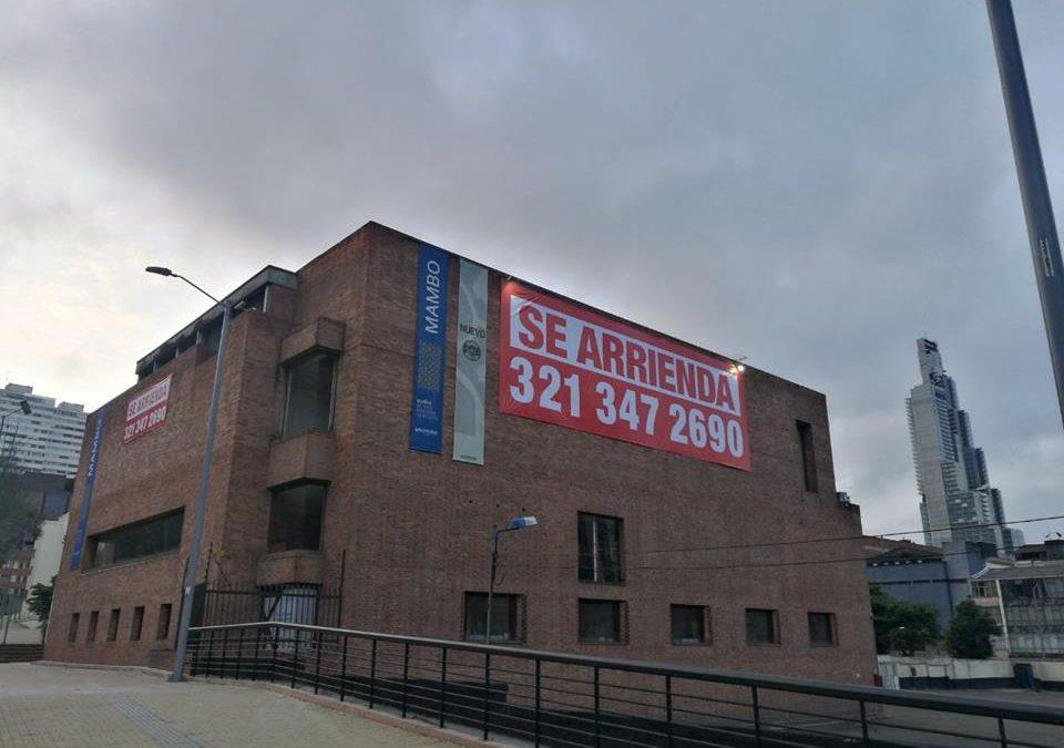EL MUSEO DE ARTE MODERNO DE BOGOTÁ SE ARRIENDA POR FALTA DE RECURSOS… DICEN