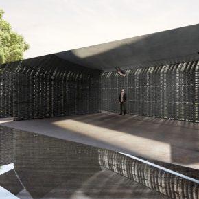 Serpentine Pavilion 2018, diseñado por Frida Escobedo, Taller de Arquitectura © Frida Escobedo, Taller de Arquitectura. Renderizado por Atmósfera