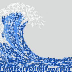 Yornel Martínez, En la paz del azul reina la cólera del rojo, 2009. Cortesía del artista