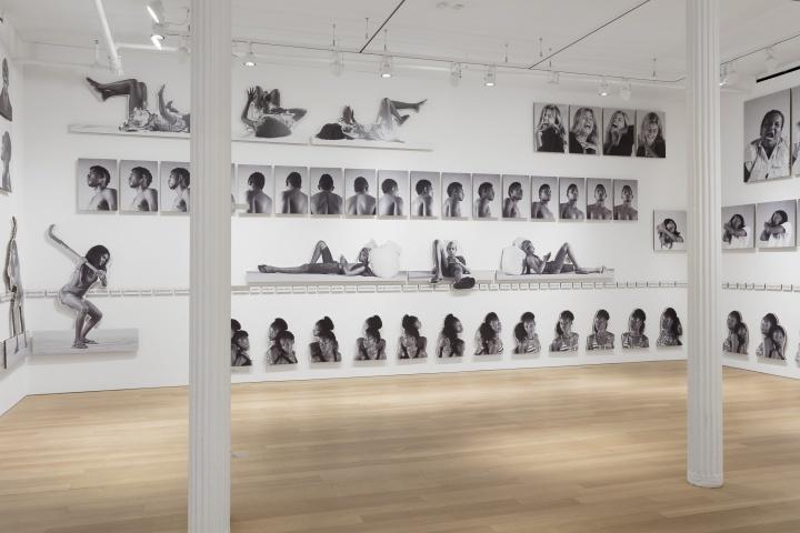 """Vista de la exposición """"Eu, mestiço"""", de Jonathas de Andrade, en Alexander and Bonin, Nueva York, 2018. Cortesía de la galería"""