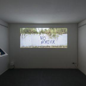 Vista de la muestra colectiva PARADISO en AlbumArte, Roma. Foto: cortesía de la galería.