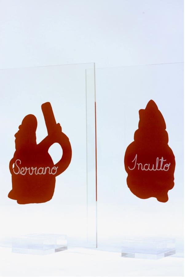 """Sandra Gamarra, """"Rojo Indio"""". Vista de la exposición en Galería Juana de Aizpuru, Madrid, 2018. Foto: Oak Taylor-Smith"""