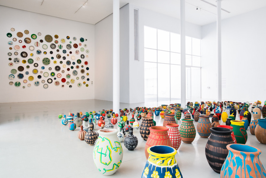 """Vista de la exposición """"Sin intención, propósito o finalidad"""", Antonio Ballester Moreno, en el Museo de Arte de Zapopan México, 2018. Cortesía: MAZ"""