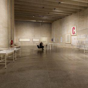TLALAATALA. José Luis Castillejo y la escritura moderna. Vista de la exposición en MUSAC, Museo de Arte Contemporáneo de Castilla y León, 2018