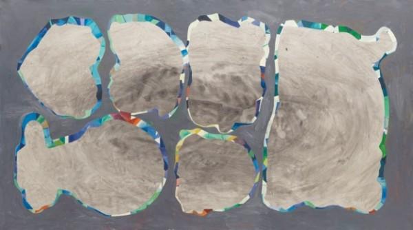 Jorge Macchi, Cover 06, 2013, óleo sobre tela. Fotografía: Gustavo Lowry