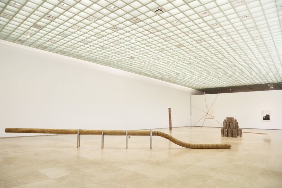 Vista de la muestra Semiprecioso de Miguel Soto en Galería Patricia Ready, Santiago de Chile. Foto: cortesía de la galería.