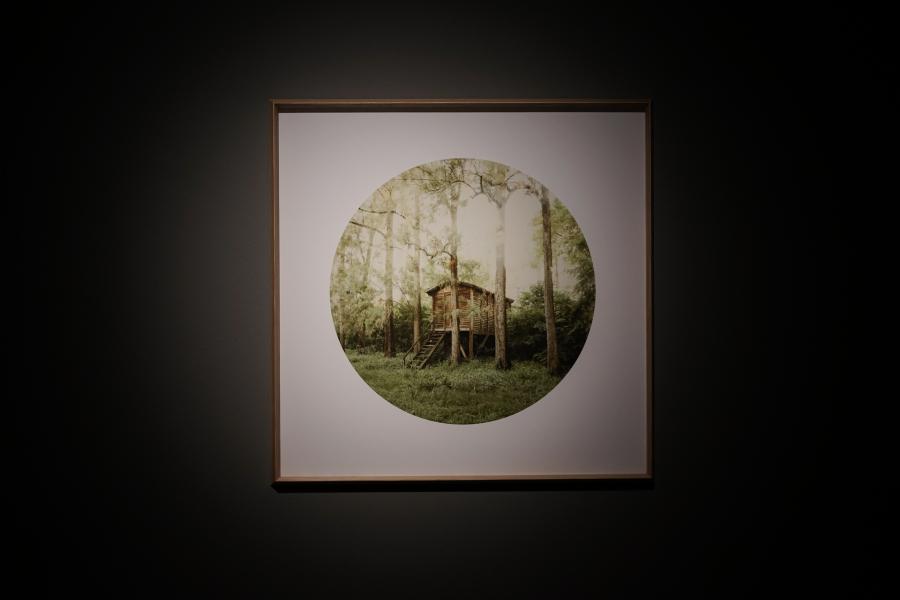 """David Sisso, Sin título (de la serie """"Tierra vacía""""), 2015, impresión Inkjet, papel Canson Infinity Rag, 70 x 70 cm. Cortesía del artista"""