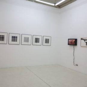 Vista de la exposición Escrituras Visuales en Die Ecke, Santiago de Chile, 2018