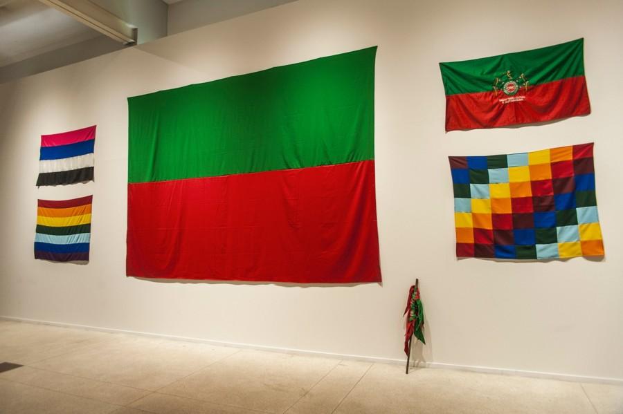 Obra de Edinson Quiñones, artista participante en la Bienal de Mercosur 2018, Porto Alegre, Brasil. Cortesía: Bienal de Mercosur. Foto: Thiéle Elissa