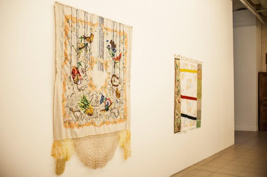 Obra de Mónica Millán, artista participante en la Bienal de Mercosur 2018, Porto Alegre, Brasil. Cortesía: Bienal de Mercosur. Foto: Thiéle Elissa