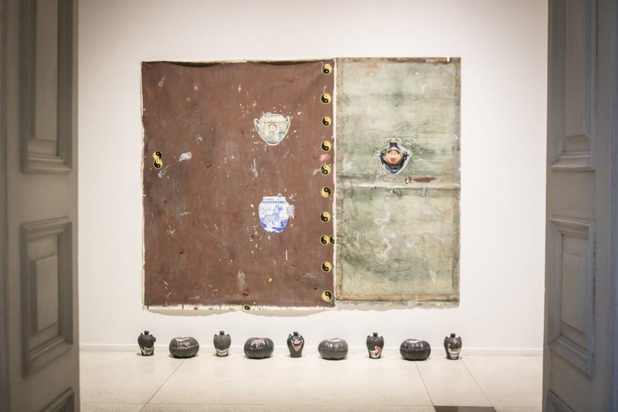 Obra de Paulo Nimer Pjota, artista participante en la Bienal de Mercosur 2018, Porto Alegre, Brasil. Cortesía: Bienal de Mercosur. Foto: Tuane Eggers
