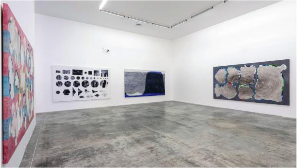 Jorge Macchi, Prestidigitador, vista de instalación en el MUAC, 2014. Fotografía: Oliver Santana
