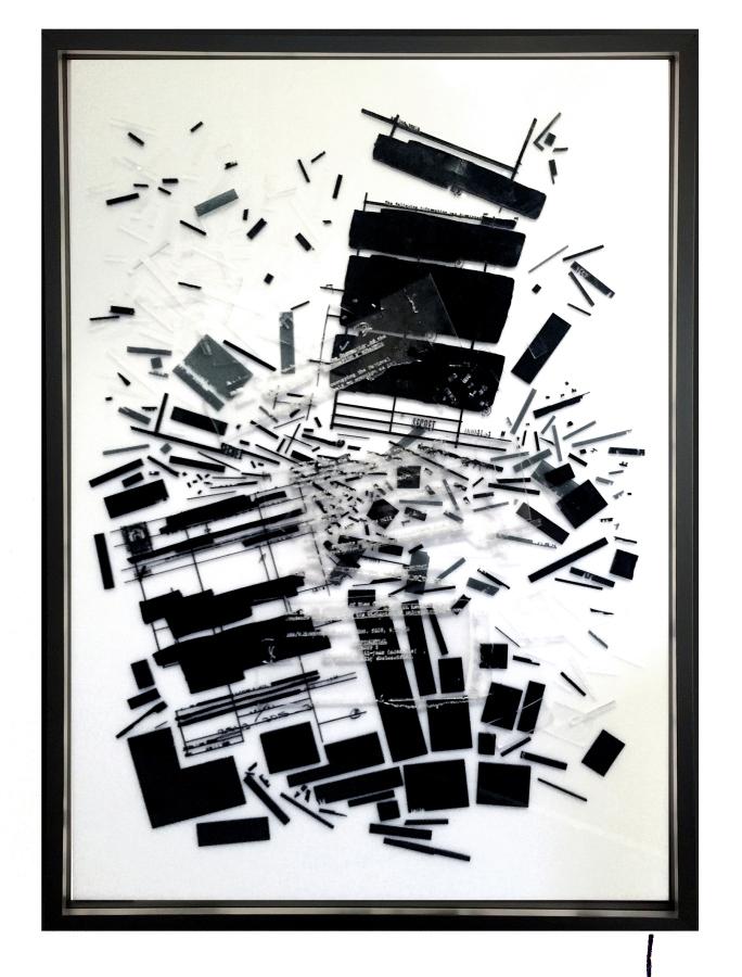 Voluspa Jarpa, De la Distopía: Homenaje a Orwell 2.0. Cortesía: Galería Patricia Ready (Santiago)