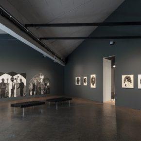 Belkis Ayón. Vista de la exposición en la Akademie der Künste, 10° Bienal de Berlín, 2018. Foto: Timo Ohler