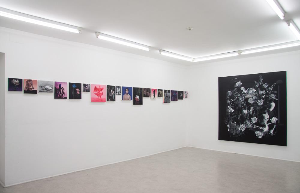 """Vista de la exposición """"Animales Salvajes"""", de José Pedro Godoy, en La Fresh Gallery, Madrid, 2018. Cortesía de la galería"""