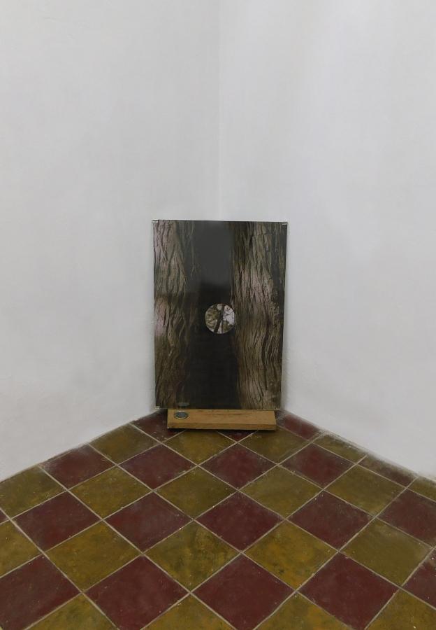 """Vista de la exposición """"La Importancia de Crecer"""", en Aramauca, San Cristóbal de las Casas, México, 2018. Cortesía: Aramauca"""