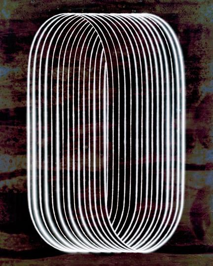 Isabel Martínez, The pulse of a loop, 2016, fotografía análoga