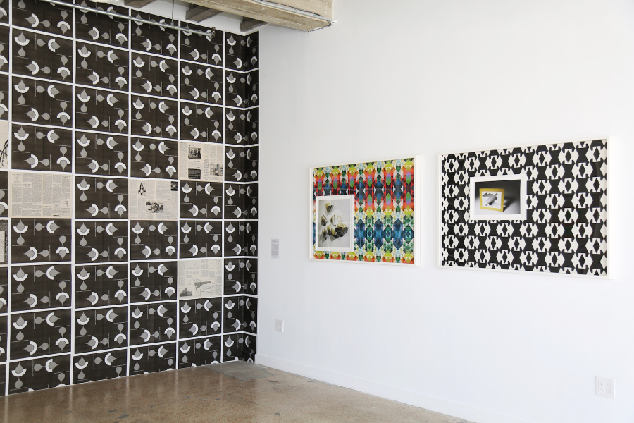 Vista de la exposición Abstracción Sólida. Estrategias desobedientes en el arte cubano contemporáneo (Solid Abstraction. Disobedience strategies in Contemporary Cuban Art), Miami Biennale, Miami, 2018. Foto: Alejandro Taquechel