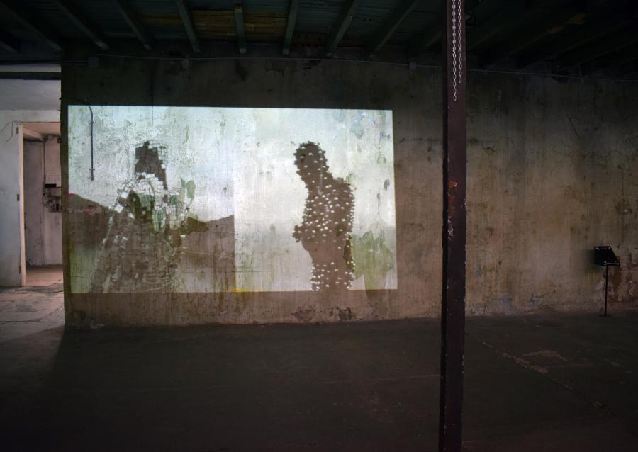 Karina Cortez, Contenedores y contenidos, 2018, video. Cortesía de los curadores y Museo CAV La Neomudéjar ©2018