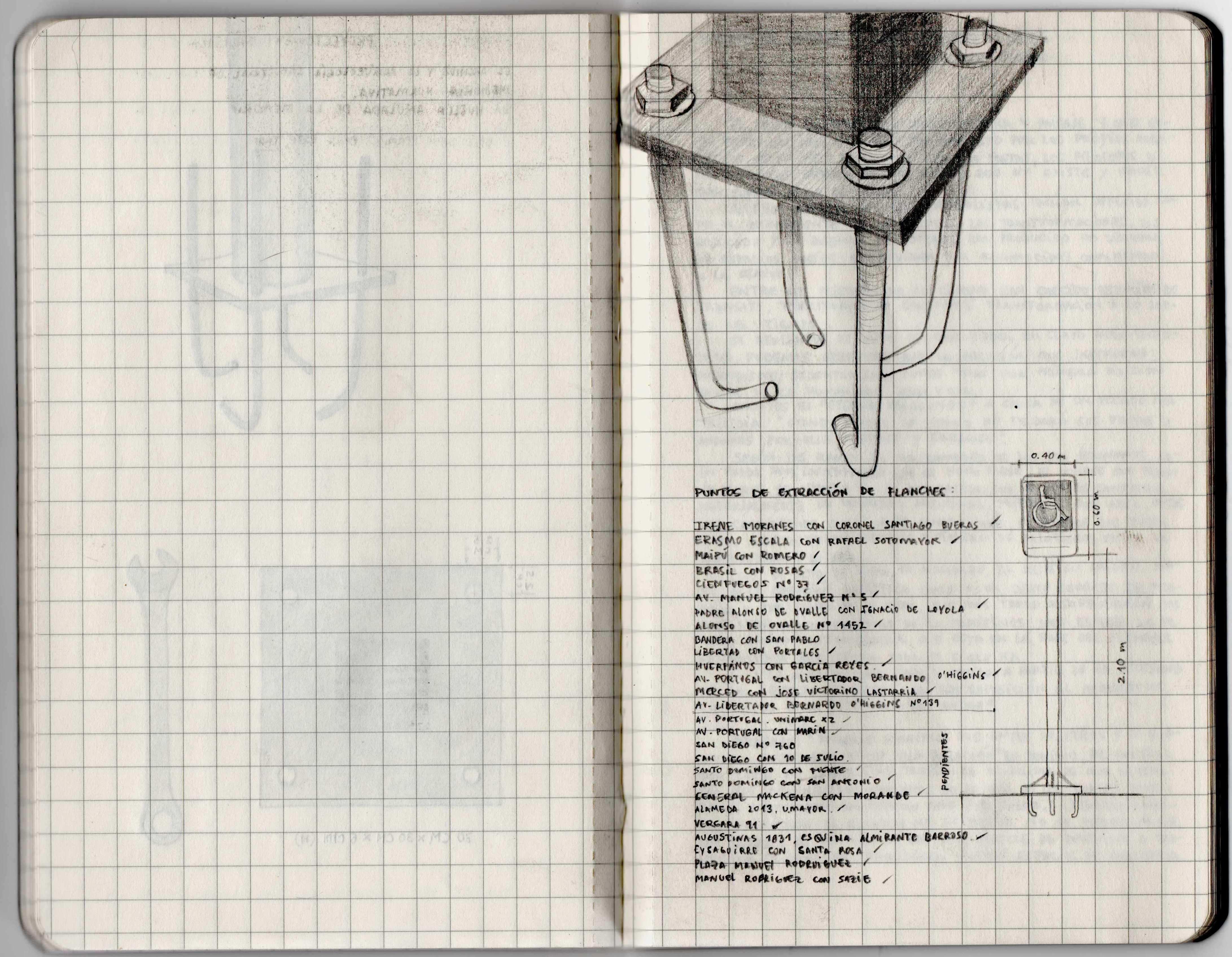 Carlos Rivera, cuaderno de artista, 2018. Cortesía del artista. Foto: Felipe Ugalde