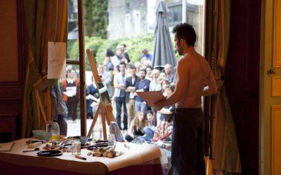 Push up the frame, Santiago Reyes, 2011. Foto: Sébastien Dolidon. Imagen cortesía del artista.